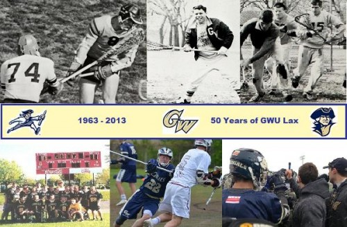 George Washington Men's Lacrosse Celebrates its 50th Anniversary