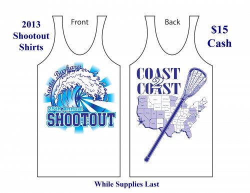 2013 Shootout Shirts