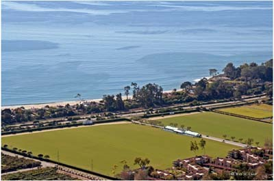 Santa Barbara Polo Club Field Map