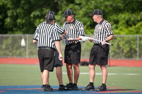 Showdown Referees At Work
