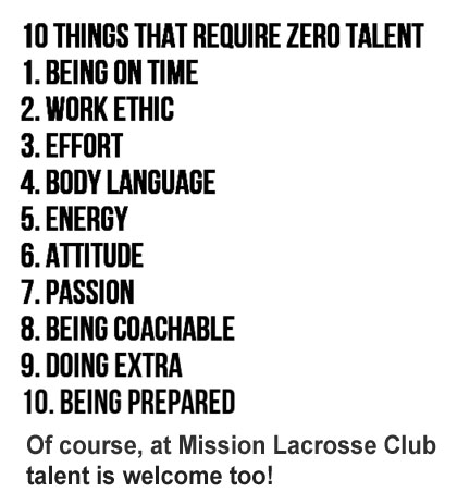 Mission LAX Work Ethic